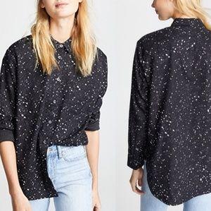 NWT Madewell Oversized Ex-boyfriend Shirt Star